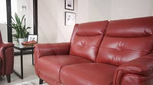 what is top grain leather sofa sabine top grain leather youtube