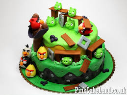 best angry birds cakes in london children u0027s birthday cakes in london
