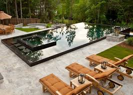Fire Pit Liner by San Francisco Black Pool Liner Modern With Water Feature