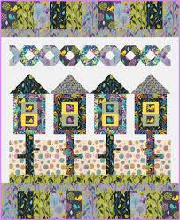 birdhouse quilt pattern free pattern birdhouse neighborhood ivory spring