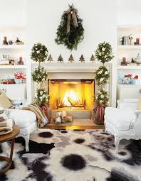 Mantel Topiaries - wds guide to holiday decorating whittington design studio