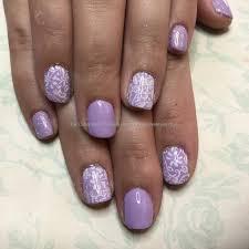 eye candy nails u0026 training lilac gel polish on natural nails