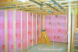 How To Insulate Your Basement by Ba 0309 Renovating Your Basement Building Science Corporation