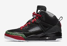 jordan spizike og black red green 315371 026 sneakerfiles