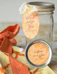 apron in a jar gift u0026 favor ideas from evermine