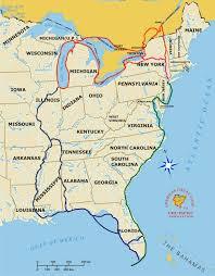 america map ohio the american great loop adventure map technomadia