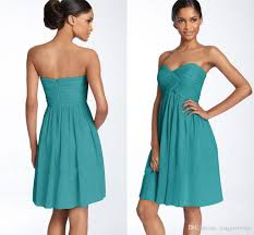 2015 short turquoise bridesmaid dresses patterns chiffon knee
