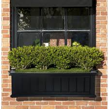 decoration wooden window boxes planter box ideas window box