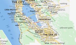 san francisco judgmental map dictionary map of san francisco is actually surprisingly