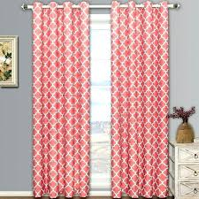 Coral And Gray Curtains Pink And Grey Shower Curtain Bosli Club