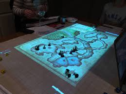 D D World Map Maker by Dungeons U0026 Dragons And Settlers Of Catan With Projection Mapping