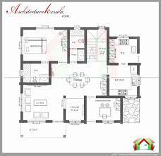 3 bhk single floor house plan 3 bhk kerala courtyard single floor house home plans inside with