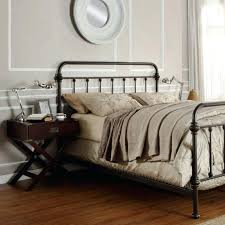 wrought iron bed frame king smartwedding co