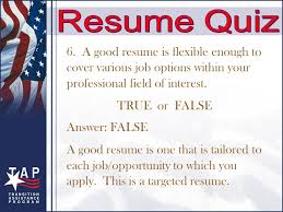 A Job Resume by Create An Effective Résumé Objectives Understand How To Write
