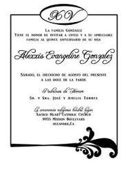 quinceanera invitations templates in spanish premium invitation