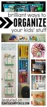 Storing Toys In Living Room - simple ways to organize kids art home designs http awesome