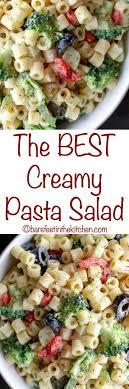 best pasta salad recipe creamy pasta salad