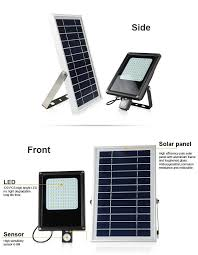 solar powered led flood lights wireless solar motion sensor flood light manufacturers and