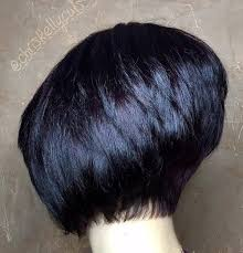 one side stack sassy bob bllack hair 2339 best m images on pinterest hair cut pixie cuts and short