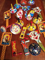 new year s noisemakers my collection of vintage new year s noisemakers