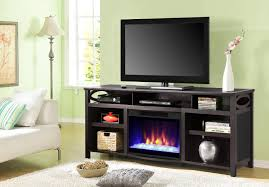 Home Decorators Tv Stand Cool Electric Fireplace Tv Stand With Dark Timber Material Mixed
