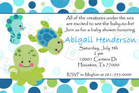 the sea baby shower the sea baby shower invitations free templates invitations