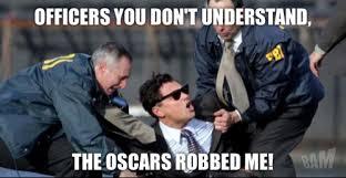 Leonardo Dicaprio Meme Oscar - robbery leonardo dicaprio s oscar know your meme