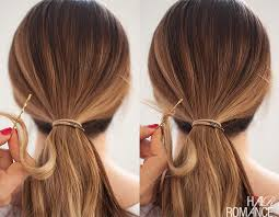 bungees hair ponytails how to use a hair bungee and hide your hair