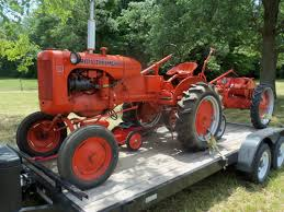 1942 allis chalmers wc reversed loader allis chamers pinterest