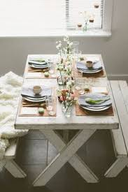 Picnic Table Dining Room 24 Best Outside In Picnic Table Indoors Images On Pinterest
