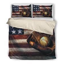 American Flag Duvet Cp Baseball American Flag Black Inside Zipoler