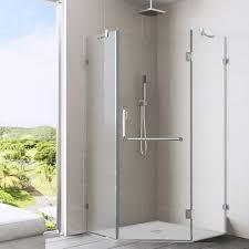 40 Shower Door Vigo Frameless Neo Angle Clear Shower Enclosure 40 X 40 Free