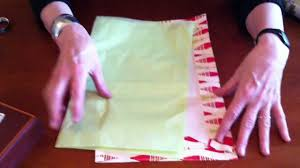 how to wrap a gift without tape youtube