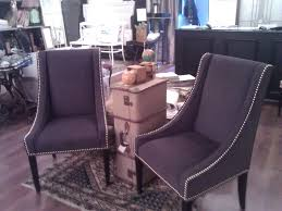 Pottery Barn Leather Dining Chair Chairs Interesting Studded Dining Chairs Studded Dining Chairs