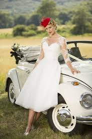 1950s short u0026 tea length wedding dresses uk