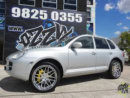 chrome porsche porsche cayenne wheels