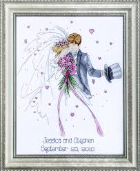 design works wedding abc cross stitch kit multi colour amazon co
