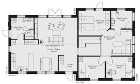 plan maison 7 chambres catalogue plain pied scandinavia 9 maison ossature bois suédoise