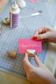 diy place cards how to make a simple placecard and holder this would be for