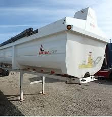 2015 kalyn siebert 38 ft steel 2 axle end dump semi trailer