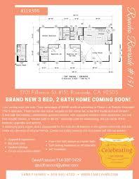 fillmore design floor plans 3701 fillmore st 151 riverside ca 92505 estimate and home