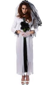 Dead Bride Halloween Costumes Skeleton Bride Halloween Costume Simply Fancy Dress