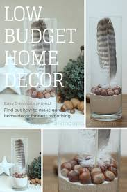 feather home decor easy 5 minute low budget home decor chalking up success