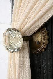 Vintage Glass Door Knobs by Repurposed Vintage Door Knobs Diy Inspired