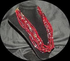 swarovski beaded necklace images Swarovski beaded necklace faith 39 s serendipity vintage jewelry JPG