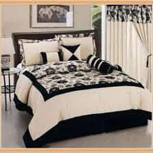 Cream And Black Comforter Black And Cream Comforter Set 13 Best Black Cream Bedroom Images