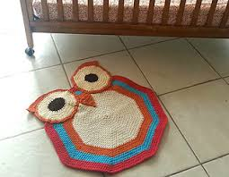 Crochet Owl Rug Ravelry Crochet Owl Rug Pattern By Whispered Whimsy