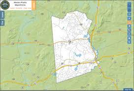 Massachusetts Maps Gis Mapsonline Weston Ma