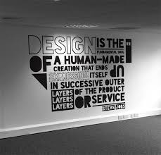 Designing A Wall Mural Typographic Quote Typography Pinterest Walls Office Designs