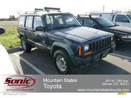 jeep blue grey 1997 lapis blue metallic jeep cherokee sport 4x4 62864285